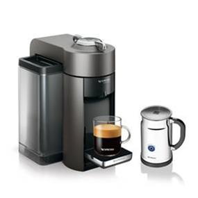 Nespresso Evoluo Deluxe Bundle Titan (A+GCC1-CA-TI-NE)
