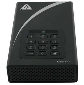 Apricorn Aegis Padlock DT 6TB Secure 256-bit AES Hardware Encrypted USB 3.0 Desktop Hard Drive (ADT-3PL256-6000)