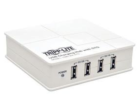 Tripp Lite 4-Port USB Charging Hub w/ OTG Hub Tablet Smartphone iPad / iPhone