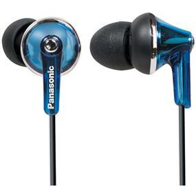 Panasonic RP-TCM190-K In-Ear Headphones (Blue)