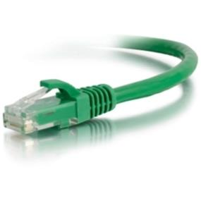 Cables To Go Category 5e Snagless UTP Unshielded Network RJ-45 Patch Cable (Green) - 15 ft. (00416)