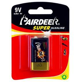 Pairdeer Brand 9V Super Alkaline Batteries 1pc (7181B-1B)
