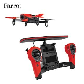 Parrot Bebop Drone Bundle Flying Drone w/ SkyController - Red (PF725100)