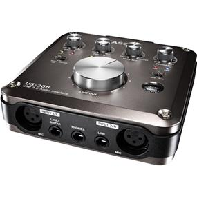 Tascam US-366 - USB 2.0 Audio Interface with DSP Mixer