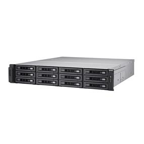 QNAP 12 Bay TS-EC1280U-RP NAS Xeon E3-1200 v3 3.4 GHz Quad Core 4GB RAM