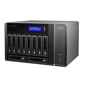 QNAP 10 Bay TS-EC1080 Pro NAS Xeon E3-1200 v3 3.4 GHz Quad Core 2GB RAM
