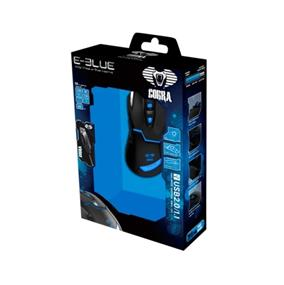 E-Blue EMS622 Cobra Gaming Mouse---Black(EMS622BKAA-IU)