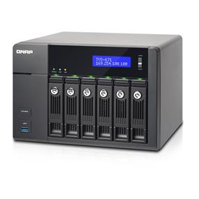 QNAP 6 Bay TVS-671-I5-8G NAS Core i5-4590S 3.0 GHz Quad-core 8GB RAM
