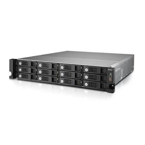 QNAP 12 Bay TS-1253U-RP NAS Quad-core Intel Celeron 2.0GHz 4GB RAM