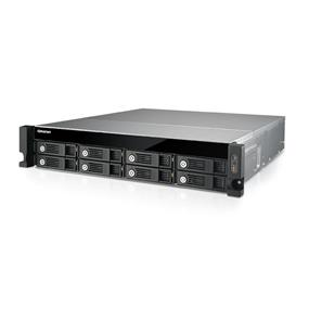 QNAP 8 Bay TS-853U-RP NAS Quad-core Intel Celeron 2.0GHz 4GB RAM