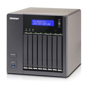 QNAP 8 Bay TS-853S-PRO NAS Quad-core Intel Celeron 2.0GHz 4GB RAM