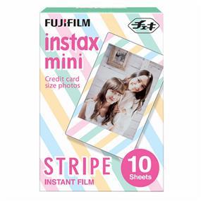 Fujifilm Instax Mini Film -Stripe (10 Exposure)