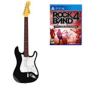 RockBand 4 Wireless Fender Stratocaster and Software Bundle (PS4)