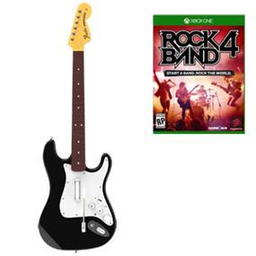 RockBand 4 Wireless Fender Stratocaster and Software Bundle (XB1)