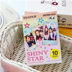 Fujifilm Instax Mini Film - Shiny Star (10 Exposure)