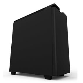 NZXT H440 Steel Mid Tower Case Matte Black & Black Closed Panel (CA-H442C-M8)