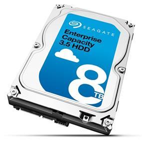 "Seagate Enterprise Capacity 8TB 3.5"" SAS 12GB/S 7200RPM OEM Hard Drive (ST8000NM0065) - 4K Native"