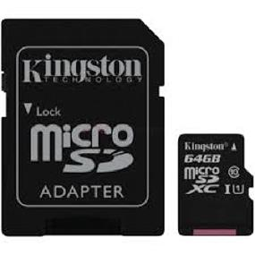 Kingston microSDHC 64GB(class 10 UHS-I)  Secure Digital Card -Up to 45MB/s Read, 15MB/s Write (SDC10G2/64GBCR)