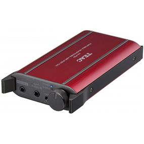 TEAC HA-P50 - Portable Headphone Amplifier and USB DAC (Red)