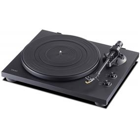 TEAC TN-200 Manual Belt-Drive Turntable with TEAC MM Phono Cartridge (Black)
