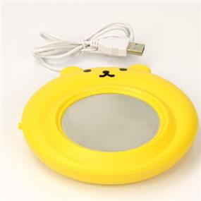 Free-on USB Bear cup warmer Yellow (LJW-033  Yellow)