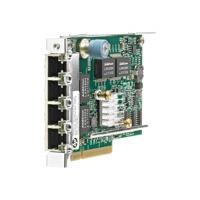 HP 331FLR - Network adapter - PCI Express 2.0 x4 - 10Mb LAN, 100Mb LAN, GigE - 4 ports - for ProLiant DL360p Gen8, DL380p Gen8, DL385p Gen8, DL560 Gen8, SL250s Gen8, SL270s Gen8 (629135-B21)