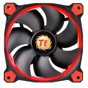 Thermaltake RIING 14 - 140mm High Static Pressure Radiator Red LED Fan 1400rpm Hydraulic Bearing