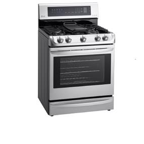 LG 6.3 cu.ft. Probake Convection Free Standing Range - Stainless Steel (LRG5115ST)
