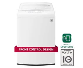 LG 5.2 cu ft.Top Load Washer with True Balance and Smart Diagnosis - White (WT1501CW)