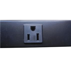 iCAN 12 Outlet Metal Power Strip