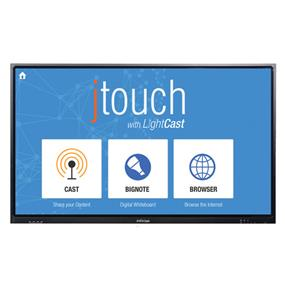 "InFocus JTouch Whiteboard with LightCast 65"" LED Touchscreen Display (INF6501C) Full HD - 1920 x 1080 HDMI x4, VGA, USB, stereo audio in - 1 year warranty"