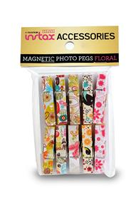 Fujifilm instax Pretty Pegs - Pack of 10 Magnetic Photo Pegs
