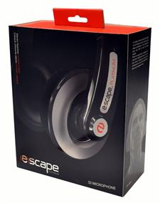 (E)scape HP-3395 - Hands Free Stereo Headset w/ Mic