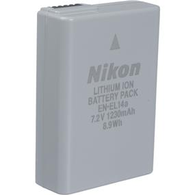 Nikon EN-EL14A - Rechargeable Li-Ion Battery for Select Nikon Cameras