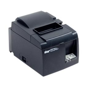 Star Micronics TSP143U GRY, THERMAL, PRINTER, CUTTER, INCLUDES USB CABLE, GRAY, POWER SUPPLY INCLUDED