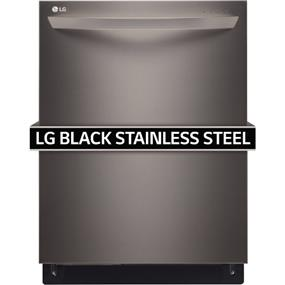 LG Fully-Integrated Dishwasher with 3rd Rack, Ultra quiet 42 dB - Black Stainless Series (LDT9965BD)