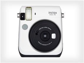 Fujifilm instax mini 70 - Instant Film Camera (White) W/ 10 exposure film