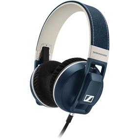 Sennheiser Urbanite XL Over-Ear Headphones (Denim, Apple iOS)