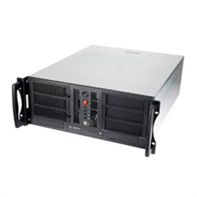 Chenbro RM41300-F2-600 4U High Performance Industrial Server Chassis, No PSU No Backplane 2 x USB 2 x Front Door with 600W PSU