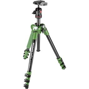 Manfrotto BeFree - Compact Travel Aluminum Alloy Tripod (Green)