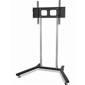 "TygerClaw 22"" to 60"" Mobile TV Stand with TV mounting Bracket (LCD8007BLK)"