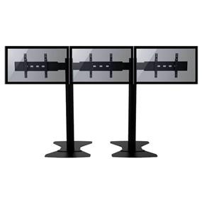 """TygerClaw 3 TVs Stand for 30"""" - 60"""" TV (LVW8604)"""