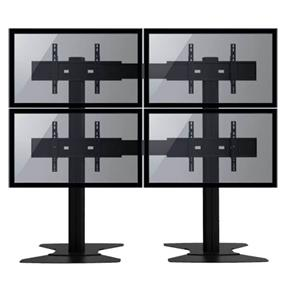 "TygerClaw 4 TVs Stand for 30"" - 60"" TV (LVW8605)"