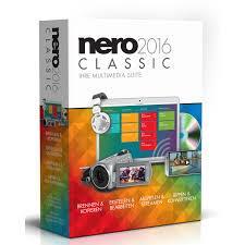 Nero 2016 Classic Bilingual (FR/EN) (AMER-10060010/555)