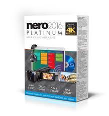 Nero 2016 Platinum Bilingual (FR/EN) (AMER-12260010/571)