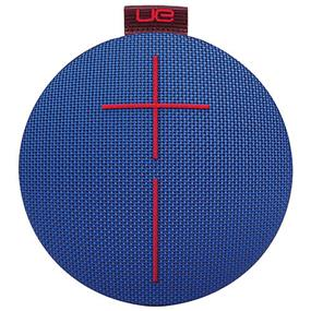 UE ROLL Bluetooth Wireless Speaker - Solid Blue Red
