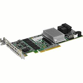Supermicro AOC-S3108L-H8iR Low Profile 12Gb/s Eight-Port SAS Internal RAID Adapter