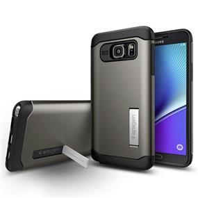 Spigen Slim Armor Case for Samsung Galaxy Note 5 - Gunmetal (SGP11686)