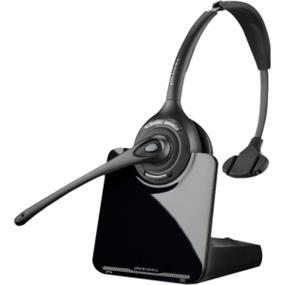 Plantronics CS510-XD Earset - Mono - Wireless - 350 ft - Over-the-head - Monaural - Circumaural - Noise Cancelling Microphone (88284-01)