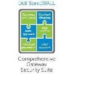 SonicWALL Comprehensive Gateway Security Suite w/o ViewPoint - Subscription License - 1 Appliance - 1 Year (01-SSC-7695)